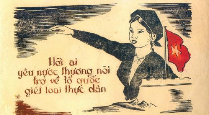 Les femmes dans les affiches de propagande de la résistance anti-française