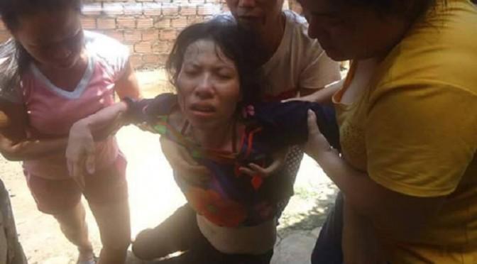 Vợ MS. Nguyễn Công Chính bị hành hung [RFA]