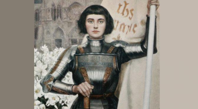 Patrick Peccatte : Les figurations sensuelles et érotiques dans l'imagerie de Jeanne d'Arc