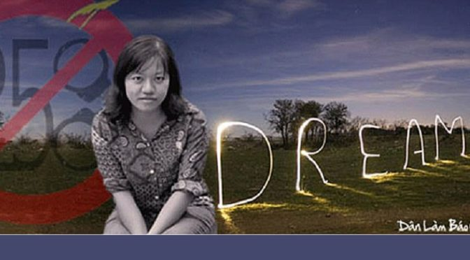 'I Won't Leave Vietnam,' Detained Blogger Says, Promising to Stay to Work For Change [RFA]