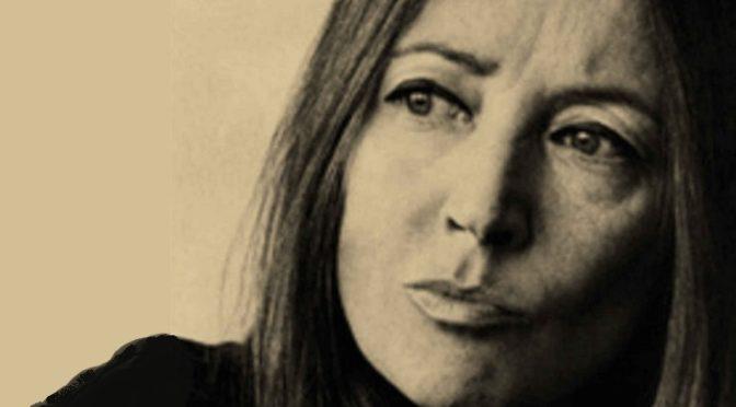 Oriana Fallaci : La vie, la guerre et puis rien [réédition]
