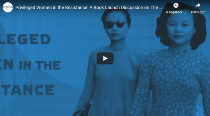 Privileged Women in the Resistance: A Book Launch Discussion on The Saigon Sisters