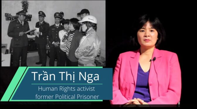 Interview with Former Political Prisoner Tran Thi Nga About Effects of Prison on Women and Children